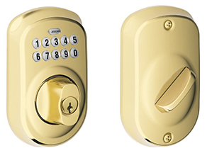 cheap keypad door lock