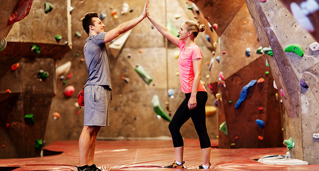 rock climbing indoor: How to Build an Indoor Climbing Wall