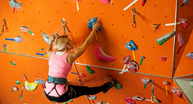 rock climbing indoor: Indoor Climbing Equipment