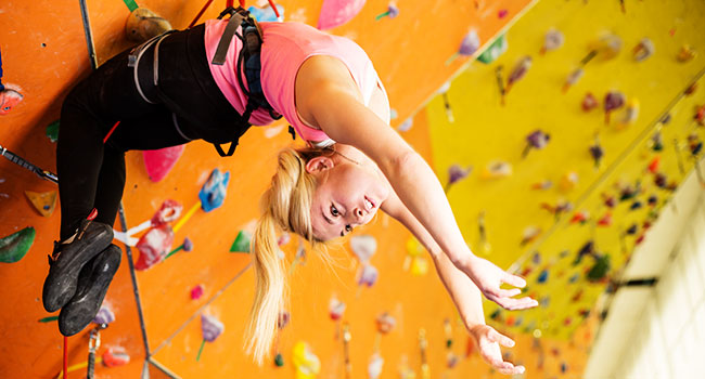 rock climbing indoor: Risk Factors of Indoor Climbing