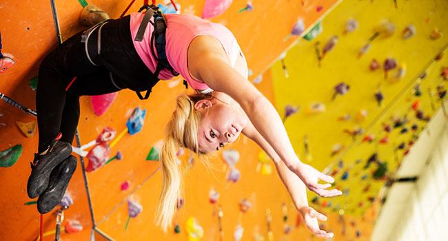 rock climbing indoor: Risk Factors of Indoor Climbing