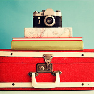 useful travel accessories: Suitcase
