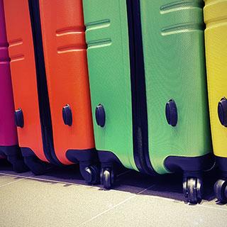 useful travel accessories: Regular suitcase