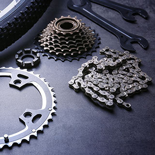 mountain biking parts & gear: