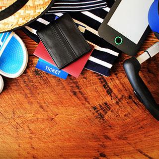 useful travel accessories: Passport wallet
