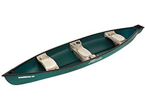 best sun dolphin mackinaw 15.6-foot canoe