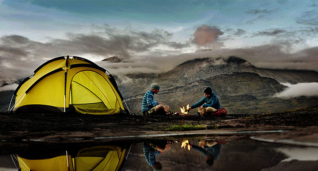 must have travel items: Camping