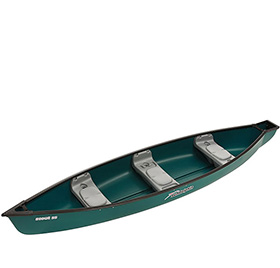 Versatile, One-Person Canoe
