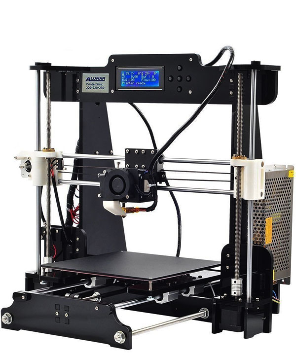Unique Self-assembly 3D Printer