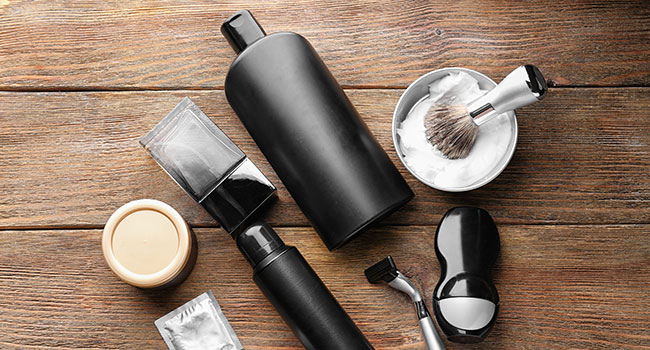toiletries for travel: Toiletry Items for Men