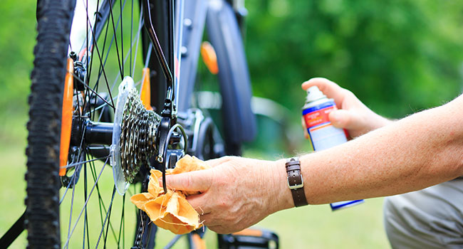 mountain biking parts & gear: Care & Maintenance of Your Mountain Bike