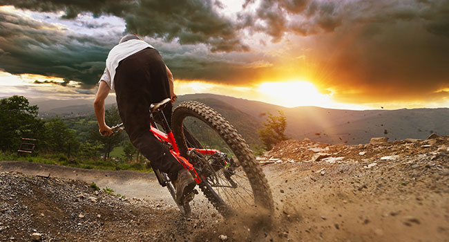 mountain biking parts & gear: Environmental Impact