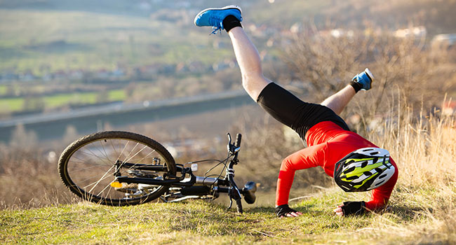 mountain biking parts & gear: Risks Factors of Mountain Biking