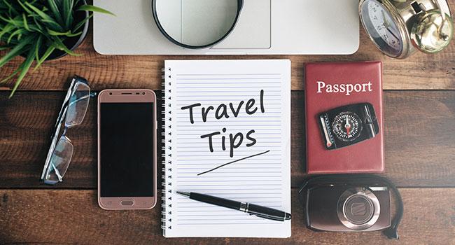 useful travel accessories: Useful Tips & Warnings