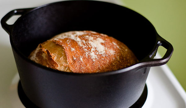 how to make bread in a dutch oven: