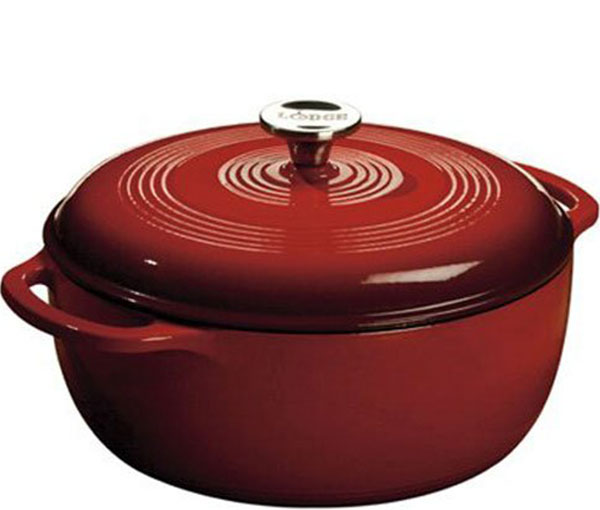 Lodge EC6D43 6-Quart Dutch Oven
