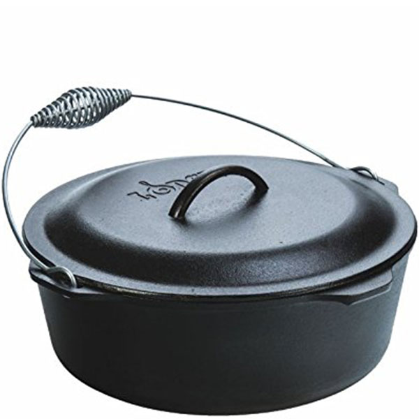 Lodge L12DO3 Cast Iron Dutch Oven
