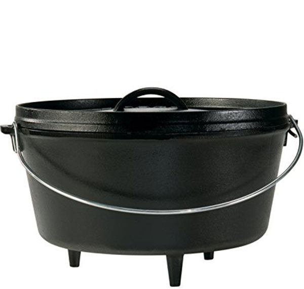 Lodge Seasoned Cast Iron Dutch Oven