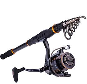 Sougayilang Telescopic Fishing Rod Reel