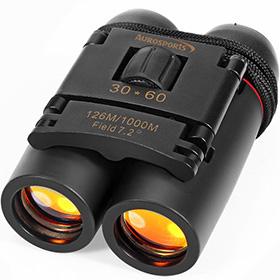 Aurosports 30×60 Folding Binoculars