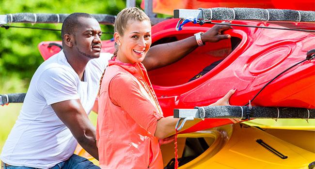 kayaking accessories: Kayak Carrier