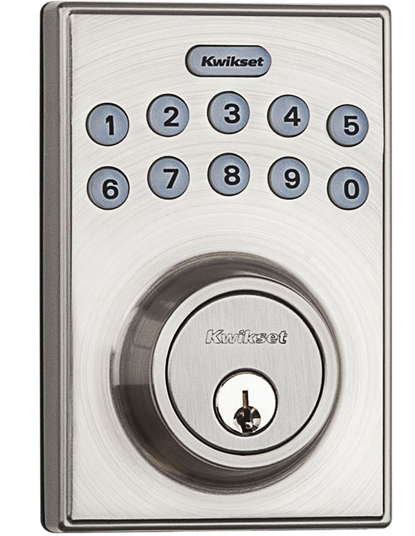 Compact Lock with Contemporary Look