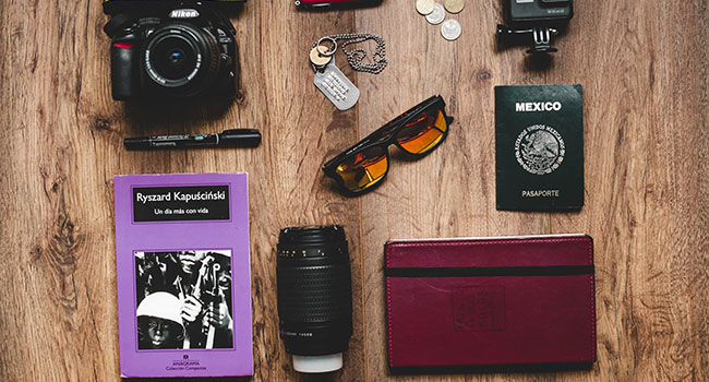 useful travel accessories: Passport holder
