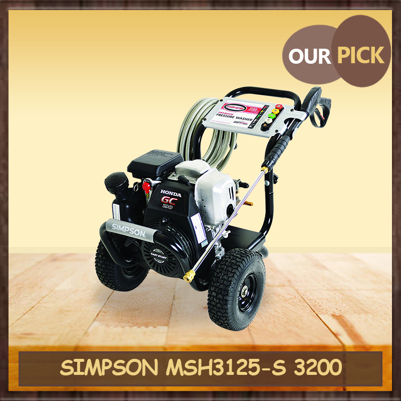 SIMPSON Cleaning MSH3125-S 3200