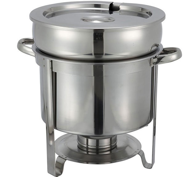 Winco 211 Stainless Steel Soup Warmer