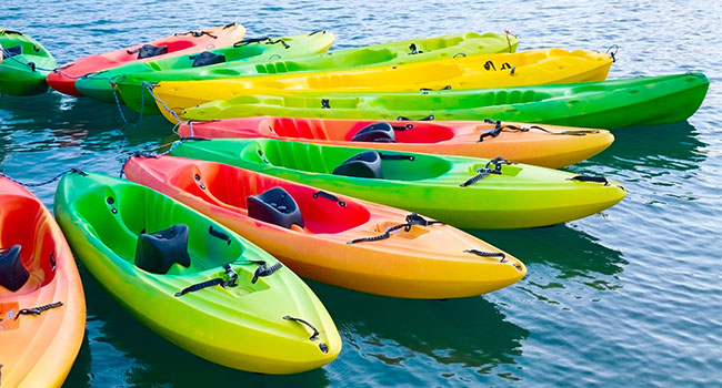 kayaking accessories: Types of Kayaks