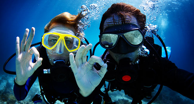 scuba diving gear: Types of Scuba Diving