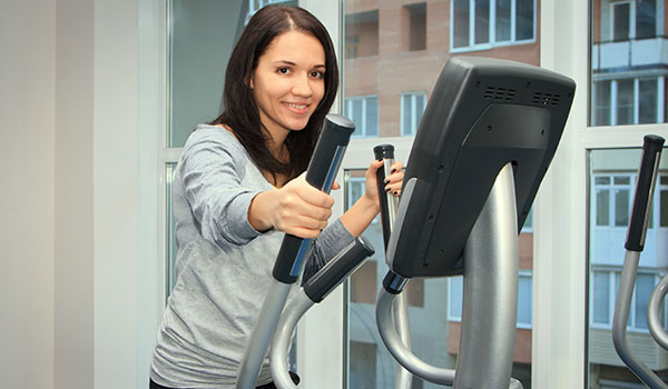 using elliptical machine: Do it at home