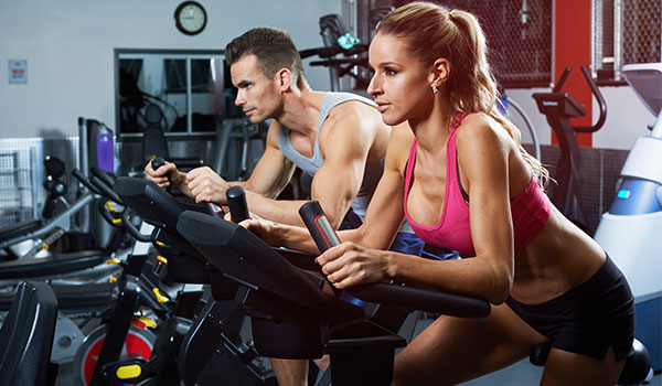 using elliptical machine: Mid Intensity Long Intervals