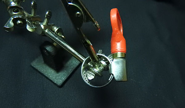how to repair a pressure washer hose: Install the male repair coupling on the cut side closest to the power washer