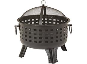AmazonBasics Steel Lattice Fire Pit