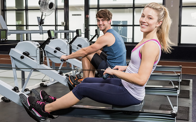 The Secret to Losing Weight Real Quick: The Rowing Machine   Stuffoholics
