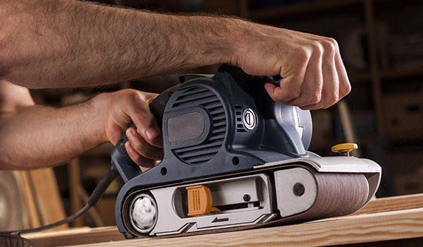 belt sander uses: