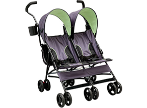 double umbrella strollers