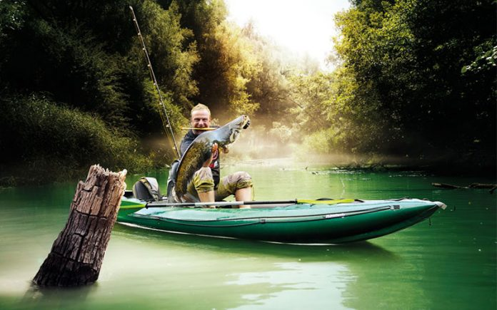 inflatable fishing kayaks: Inflatable Fishing Kayaks - For Low Cost Fishing Adventures
