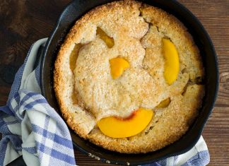 Dutch oven peach cobbler: Use Your Dutch Oven To Make The Best Peach Cobbler Ever