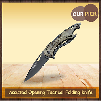Assisted Opening Tactical Folding Knife
