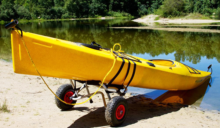 parts of a canoe: Get Yourself a Canoe Cart