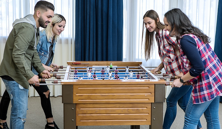 How to play foosball: Defense
