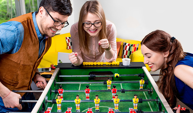 Foosball table rules