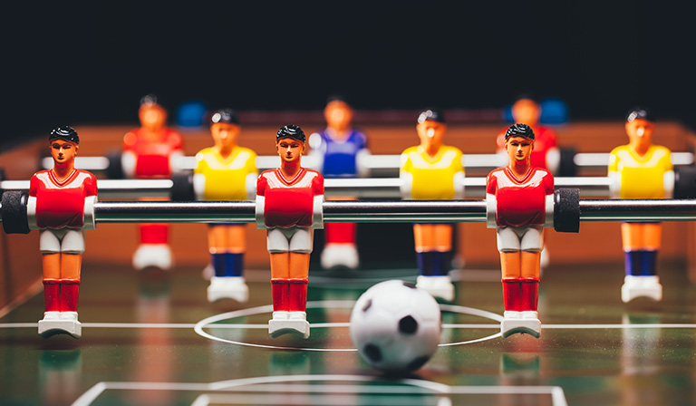 Foosball table: the basics