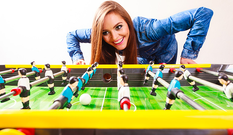 How to play foosball: Passing
