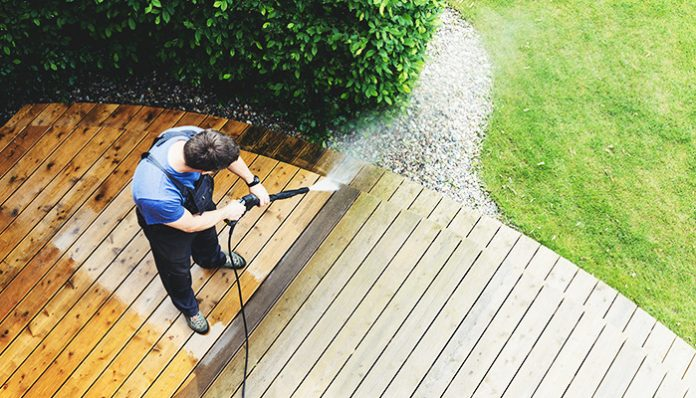 power washer surface cleaner: 5 Places to Clean Using a Pressure Washer