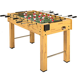 First place Foosball