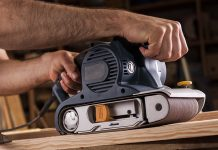 woodworking for beginners: How to use a belt sander for woodworking?