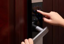 how to change code on keypad door lock: Keyless Door Lock